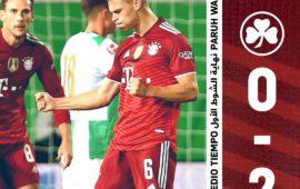 赛事回顾  菲尔特vs拜仁慕尼黑   1-3